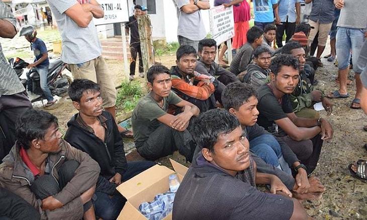 Indonesia rescues 20 Muslim Rohingya adrift off Aceh