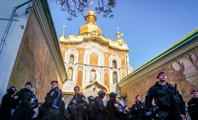 Ukraine raids Orthodox churches with Russia ties