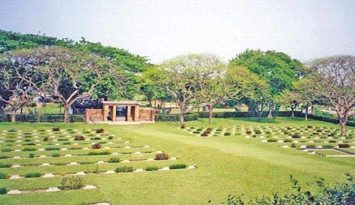 Mainamati War Cemetery reminds all of World War II
