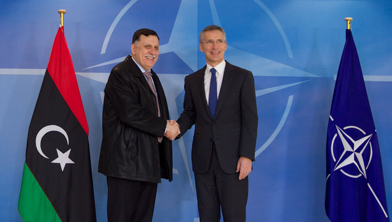 NATO stresses support for Libya