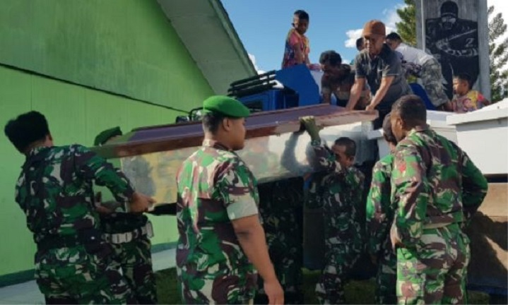 Indonesia hunts suspects in alleged Papua mass killing