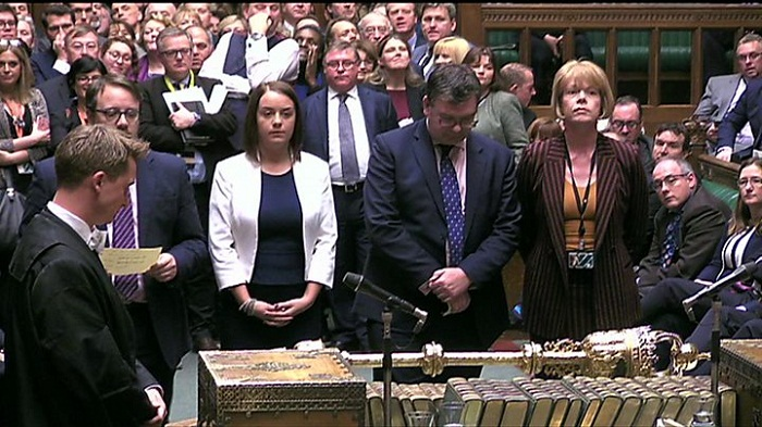Theresa May suffers three Brexit defeats in Commons