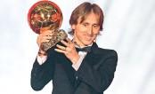 Modric wins Ballon d'Or