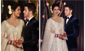 Priyanka Chopra, Nick Jonas look dreamy at their Delhi reception