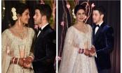 Priyanka Chopra, Nick Jonas look dreamy at their Delhi reception