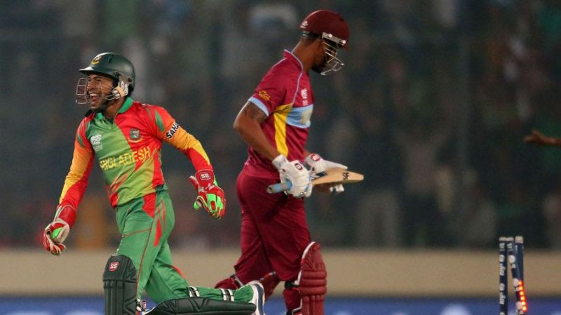 West Indies opt to bat first against BCB XI