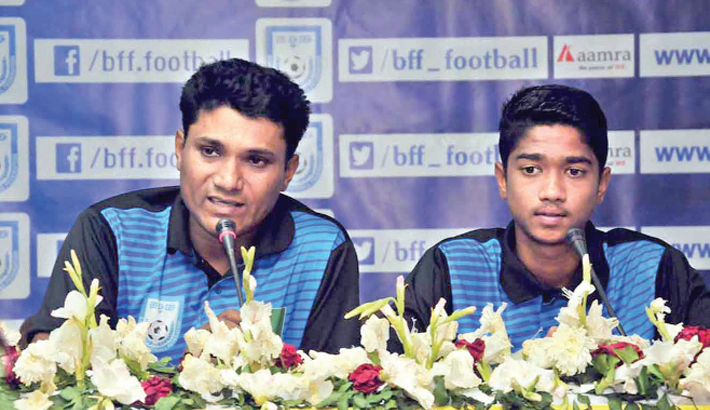 Young booters toil hard for UEFA U-15
