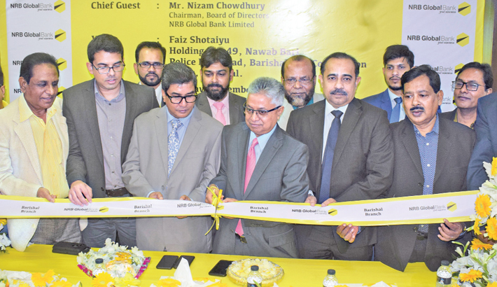 NRB Global Bank opens branch in Barishal