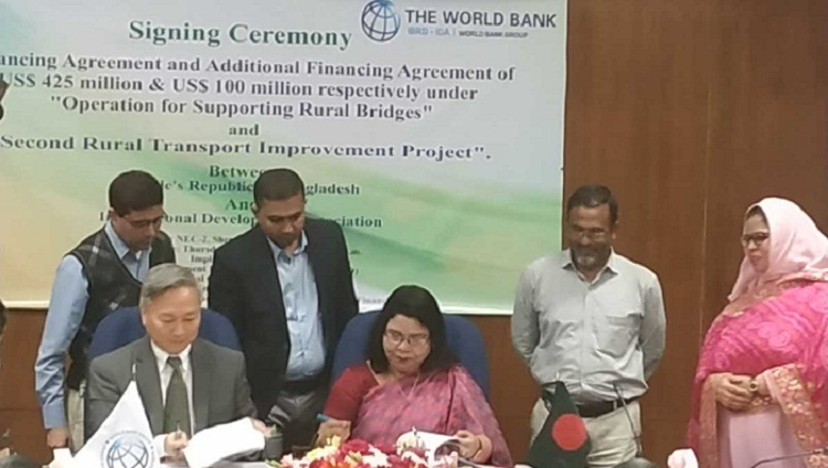 World Bank, Bangladesh sign $525 mn deal to improve rural connectivity