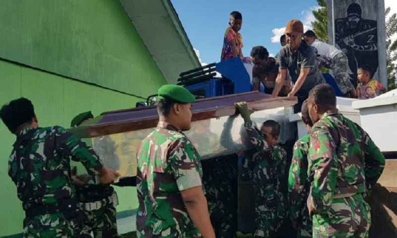 Indonesian forces locate bodies of 16 people killed in Papua