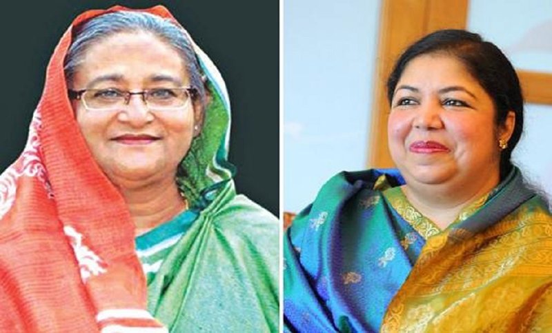 Hasina to contest polls from Gopalganj-3, Shirin from Rangpur-6