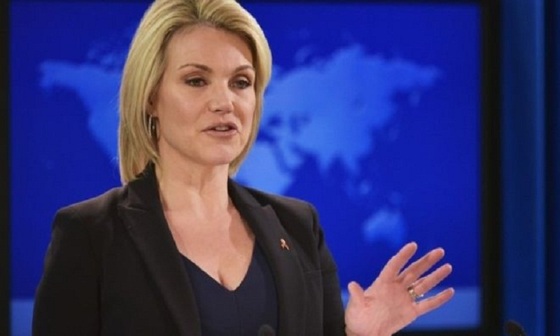 Heather Nauert 'to replace Nikki Haley as US envoy to UN'