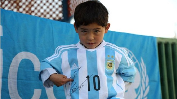 Afghanistan's 'Little Messi' flees home after Taliban threats