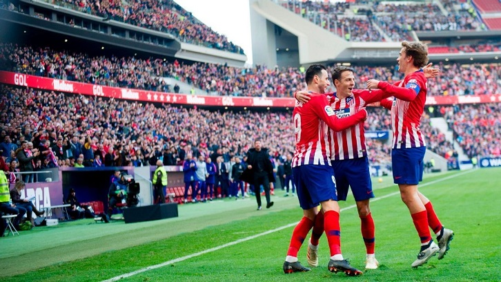 Atletico go joint top with Barca after Alaves win