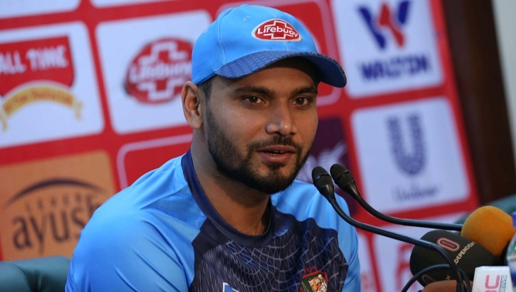 Mashrafe reluctant to accept 'favourite' tag
