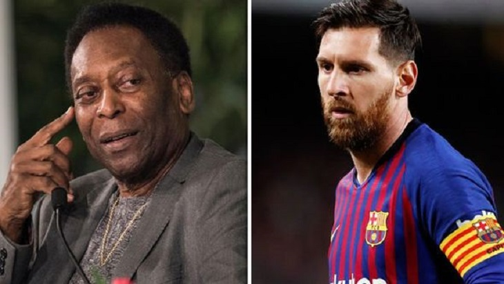 Messi 'only has one skill': Pele