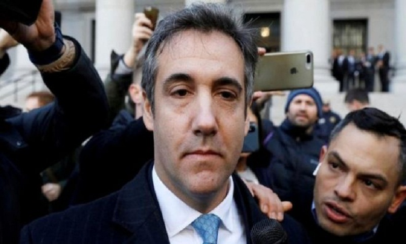 Trump ex-lawyer Michael Cohen's help with Russia probe revealed