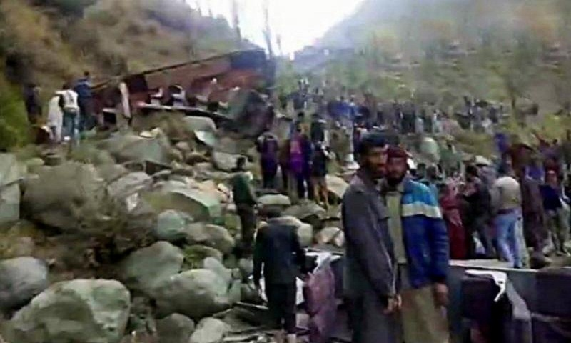 11 killed, several injured as bus falls into gorge in Jammu and Kashmir