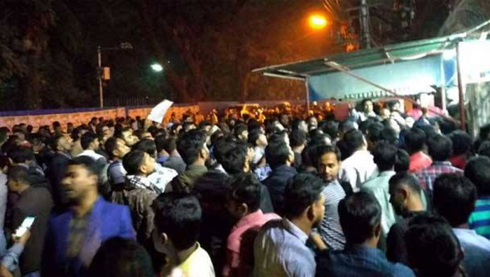 Followers of deprived BNP nomination seekers attack Khaleda's office