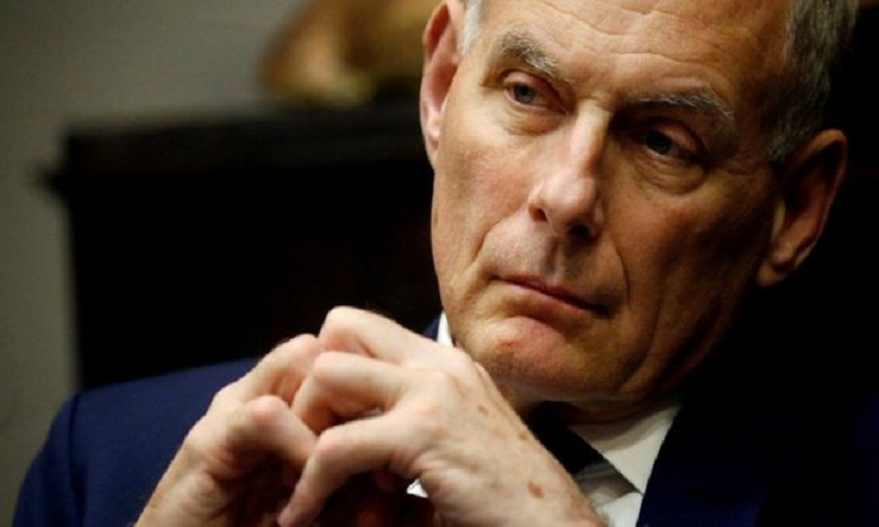 Trump chief of staff John Kelly to leave White House job