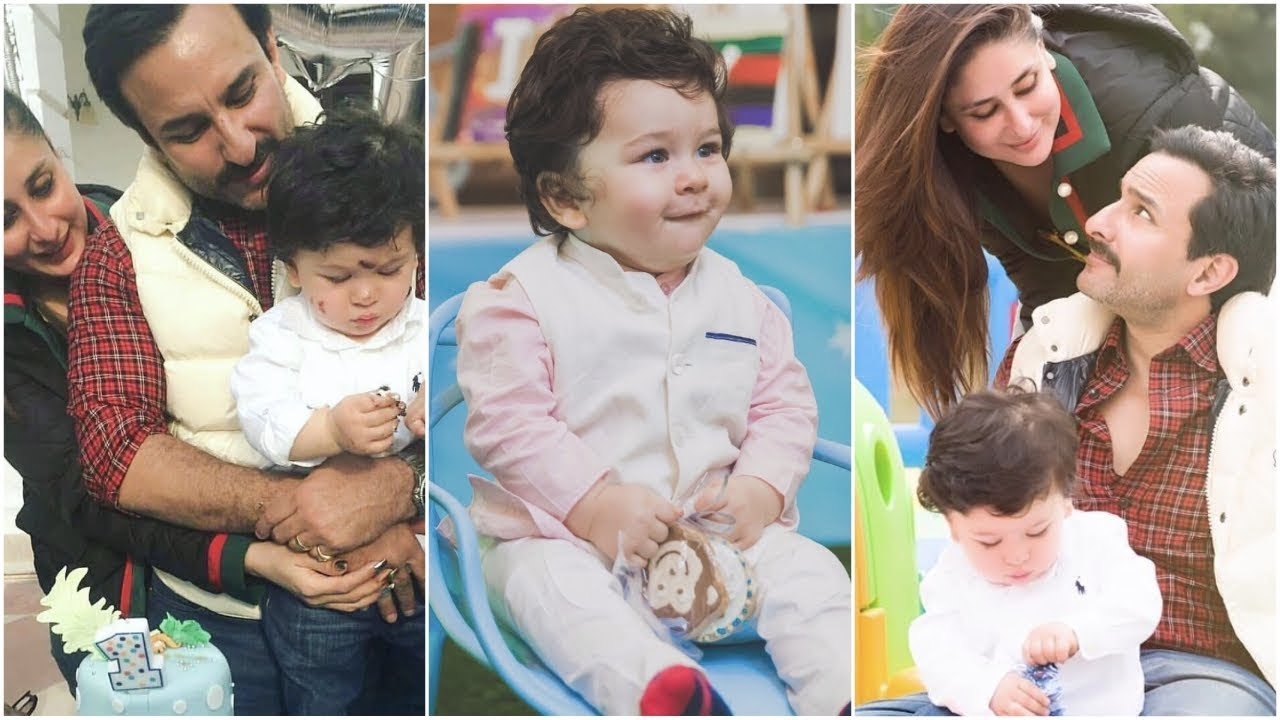 Kareena Kapoor, Saif Ali Khan celebrate son Taimur's birthday with all his friends