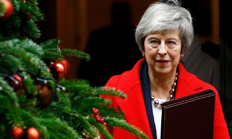 Brexit: Theresa May warns of 'uncharted waters' ahead of key vote