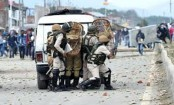 Indian troops kill 3 rebels in 18-hour-long Kashmir fighting