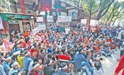 Supporters of deprived BNP aspirants continue demo
