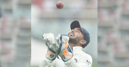 Rishabh Pant matches world record with 11 catches in a Test