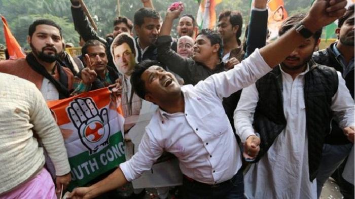 Setback for Modi's BJP in three key states