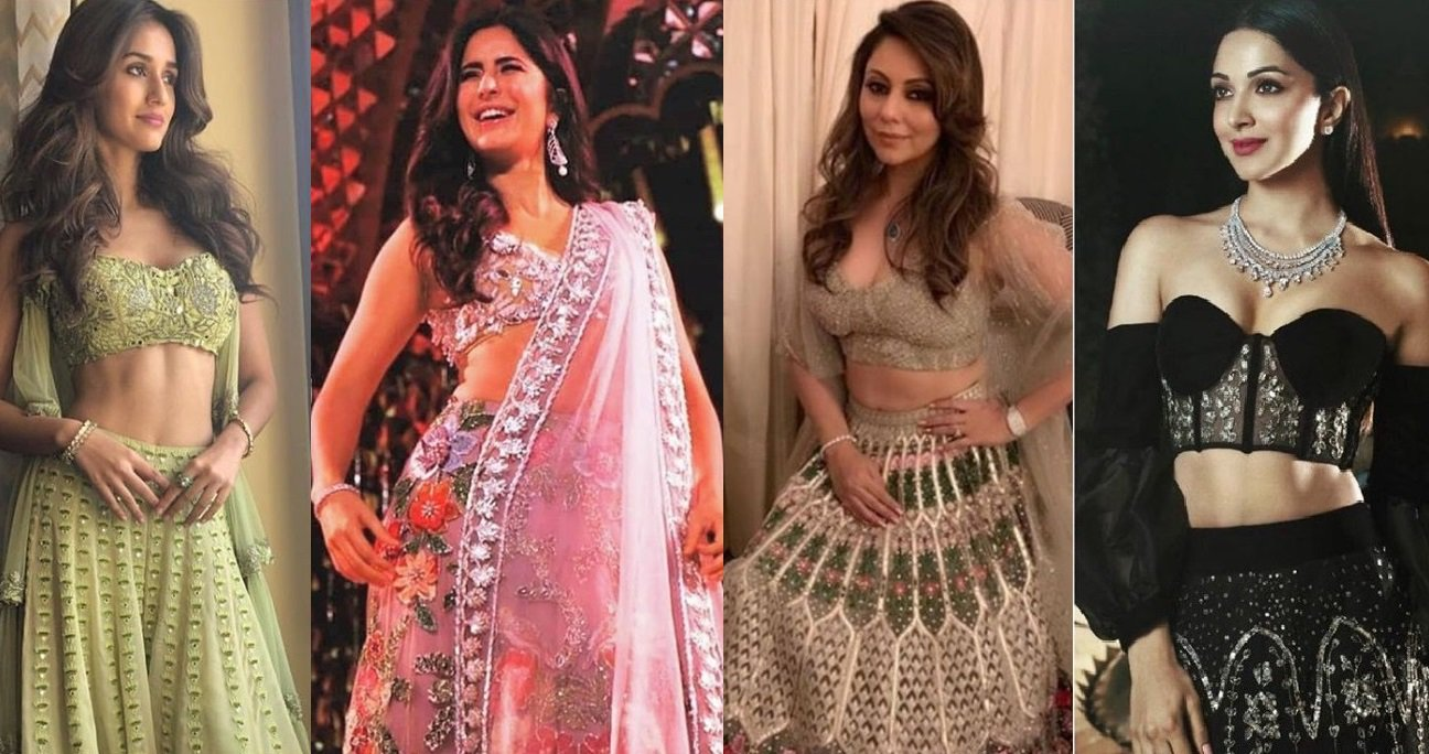 Isha Ambani wedding: Disha, Janhvi, Katrina, Gauri stun in lehengas (See photos)