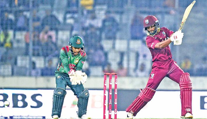 West Indies cricketer Shai Hope