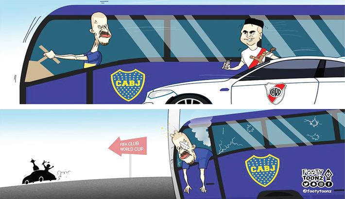 River Plate on Their Way to FIFA Club World Cup