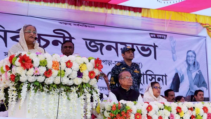 Hasina seeks one more chance to take country forward
