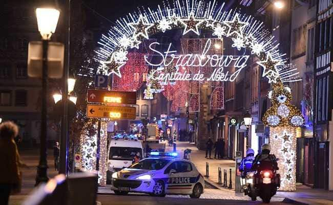 3 killed in Strasbourg Christmas market shooting