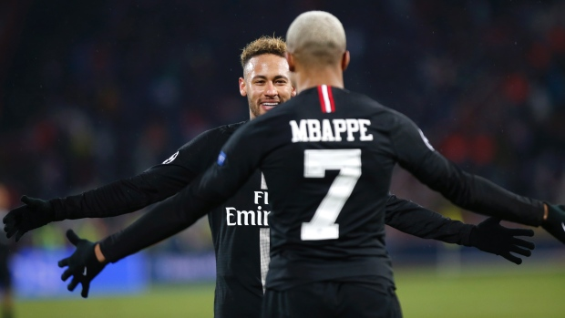 PSG beats Red Star to reach Champions League knockout stage