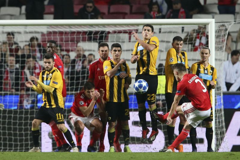 Benfica ends Champions League campaign with 1-0 win over AEK
