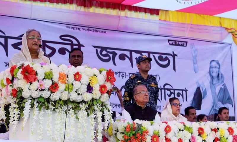 Every vote counts, says Hasina