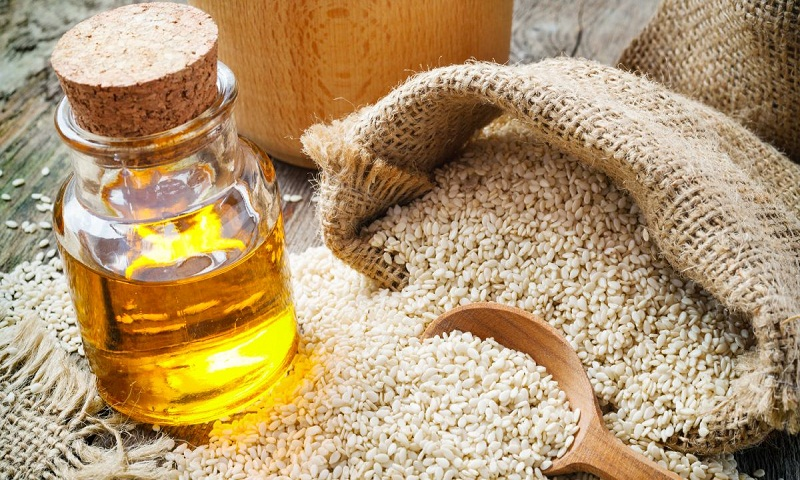 Fall in love with Sesame oil