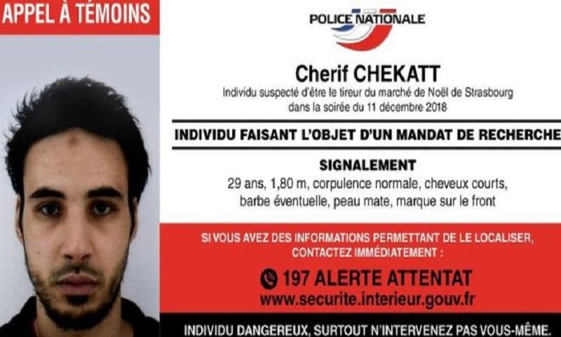 Strasbourg shooting: Police appeal to find Chérif Chekatt