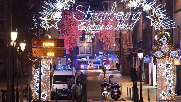 Strasbourg gunman shouted 'Allahu Akbar' as he attacked