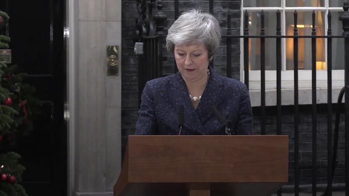 Theresa May won't lead Conservatives into next election