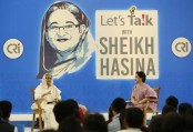 TV premiere of 'Let's talk with Sheikh Hasina' today