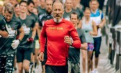 Marathon running increases cardiac strain in older men