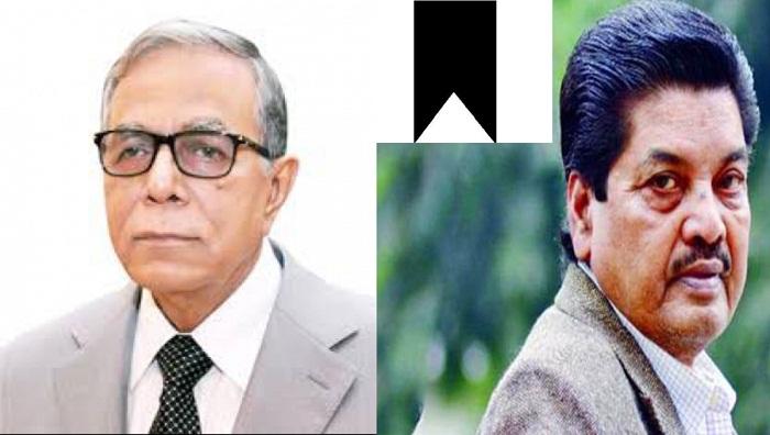 President shocked at Amjad Hossain's death