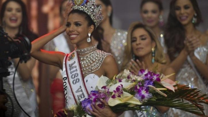 Beauty queen from slum is crowned Miss Venezuela