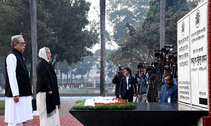President, PM pay tributes to Martyred Intellectuals