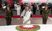 PM pays tributes to Bangabandhu on Martyred Intellectuals Day