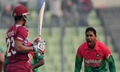 Hope hits fifty, West Indies 95/3