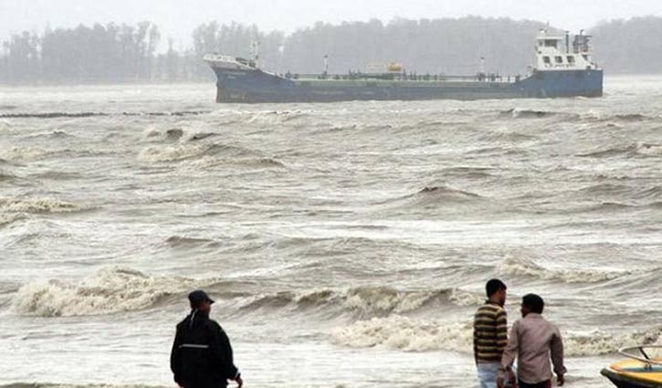 Maritime ports asked to hoist signal 1